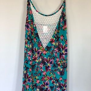 Xhilaration Floral Swim Cover Up